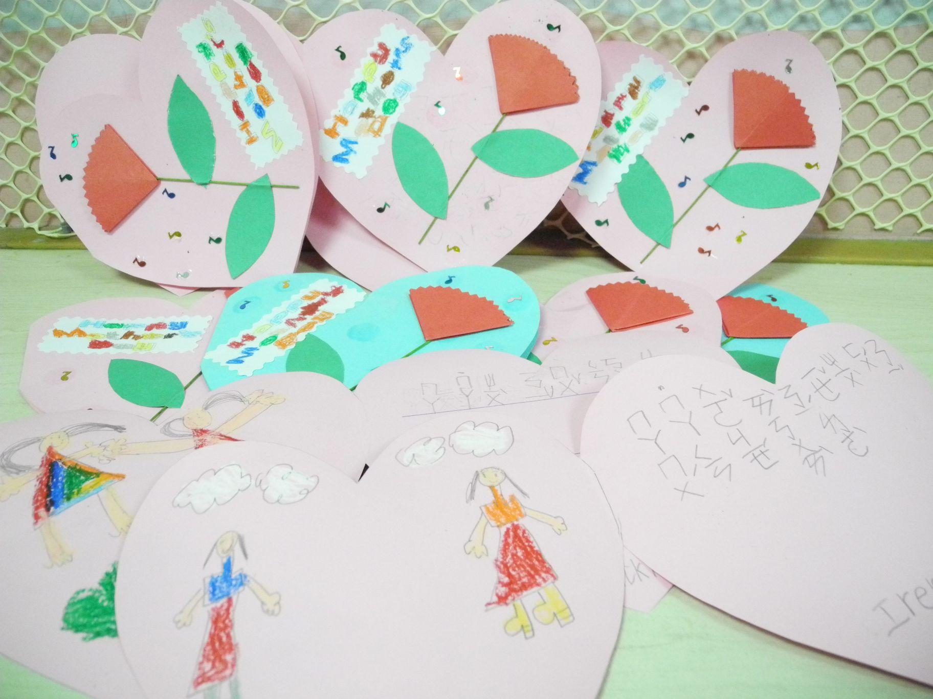 惠文儿童领袖幼儿园~2013母亲节爱的礼物大献礼